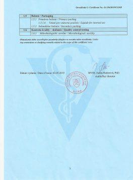 BIOM-R certifikát správnej výrobnej praxe